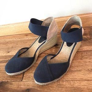 Ralph Lauren Espadrilles Navy Heels